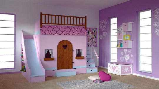 Una habitaci n de ensue o con mi espacio infantil - Habitaciones de ensueno ...
