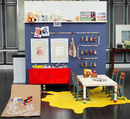Peque o espacio creativo for Decoracion de espacios de aprendizaje