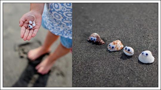 Manualidades con conchas de mar para ni os imagui - Manualidades con conchas ...