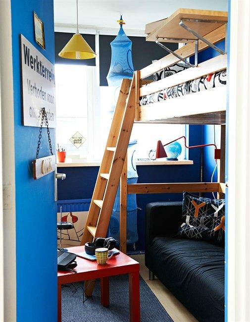 M s dormitorios juveniles con camas altas - Ikea cama alta ...