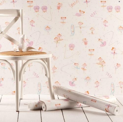 Colecci n de papeles pintados de zara home for Papel decorativo pared infantil