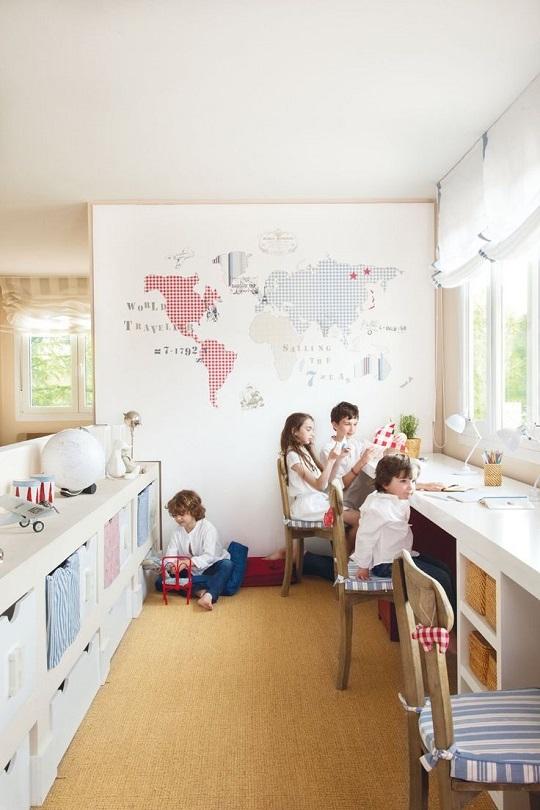 Zonas de estudio for Habitaciones ninos el mueble