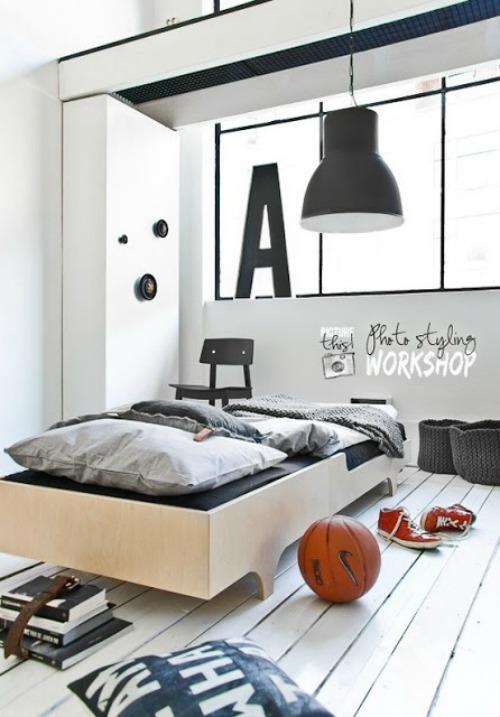 Juveniles de dise o minimalista para chicos for Lustre chambre ado garcon