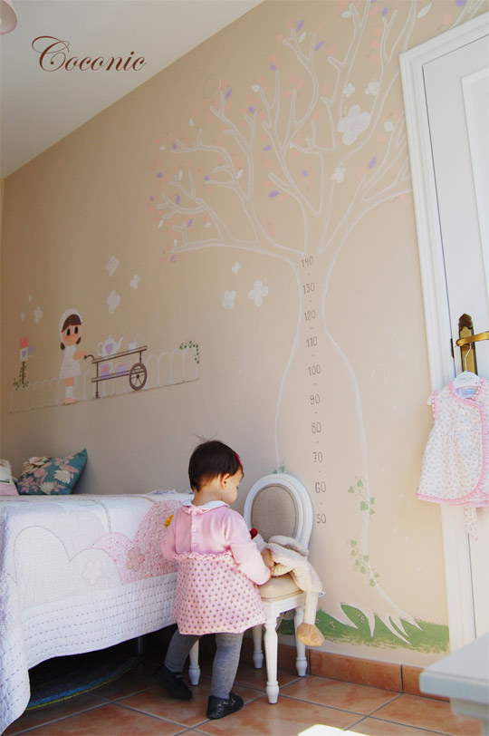 Cuadros y murales infantiles de coconic decoideas net - Murales infantiles pintados a mano ...