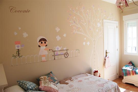 Murales pintados infantiles decoideas net - Decoracion infantil paredes ...