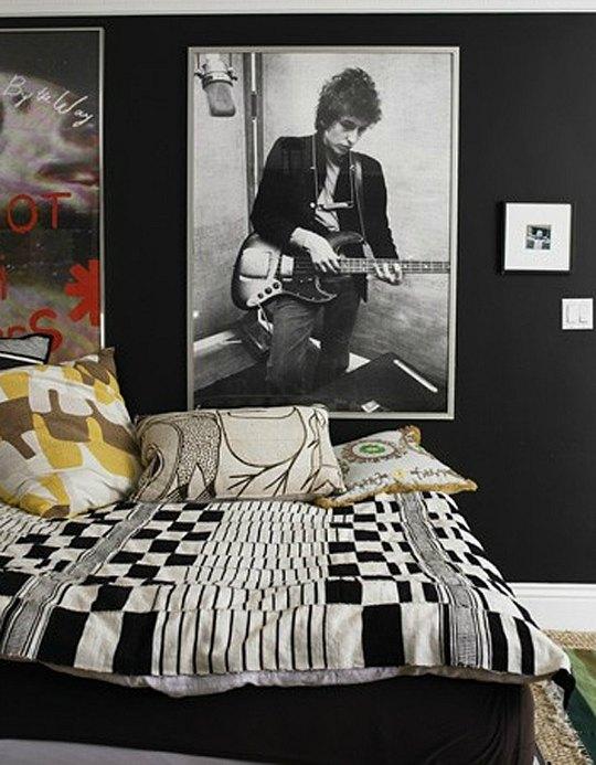 Decoración Música para dormitorios juveniles