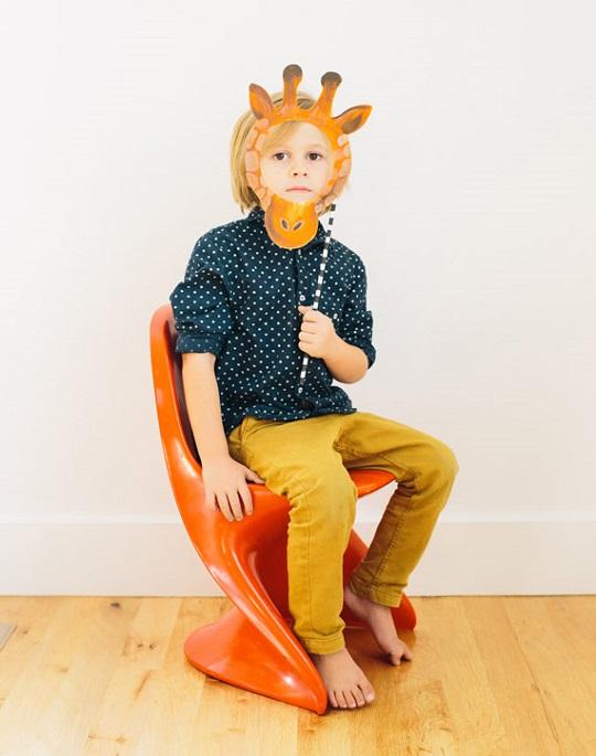 máscara-jirafa