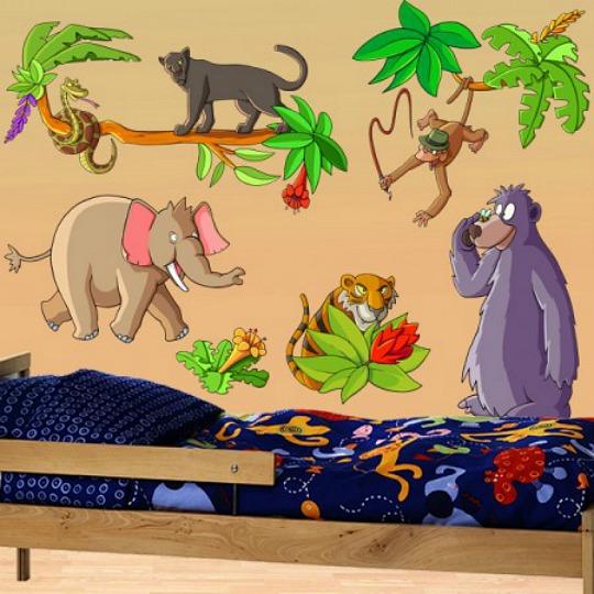 Vinilo infantil la selva - Manualidades decoracion infantil ...
