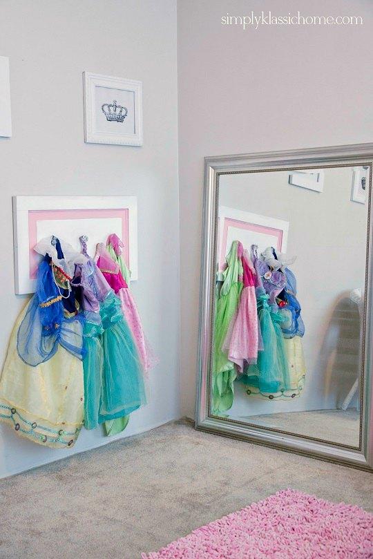El rincón perfecto para la habitación de una niña