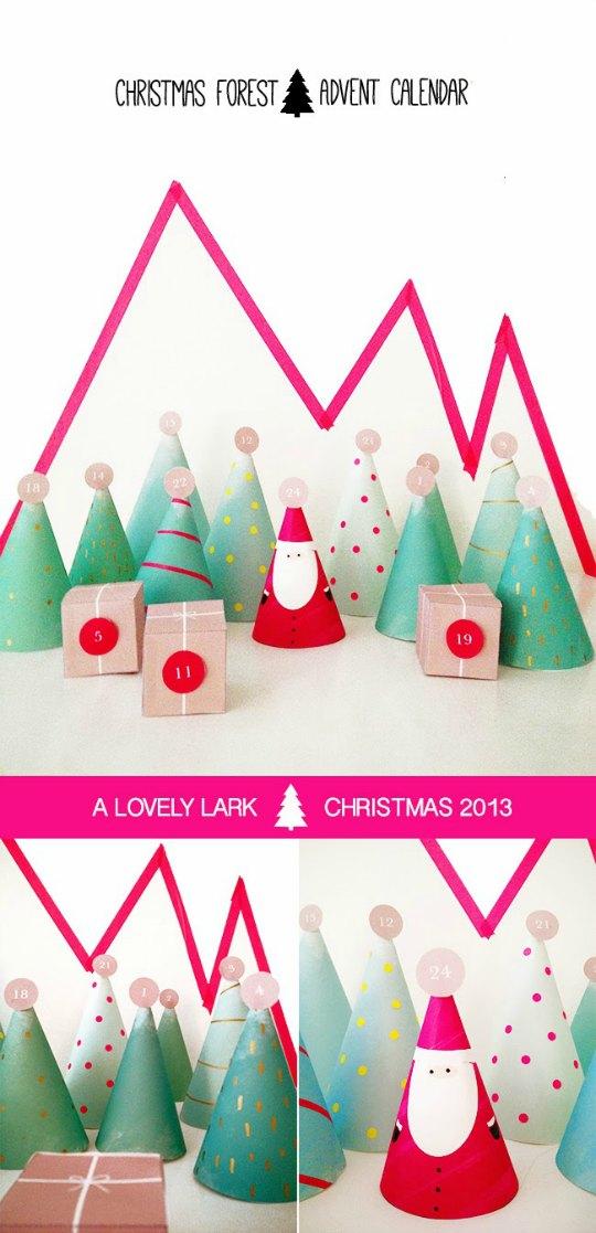Calendario de Adviento Bosque de Navidad