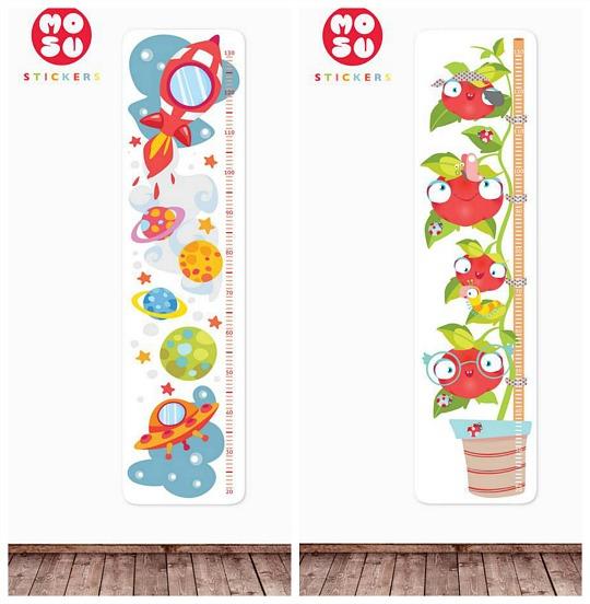Mosu stickers presenta su nueva colecci n de medidores - Medidor de habitaciones ...