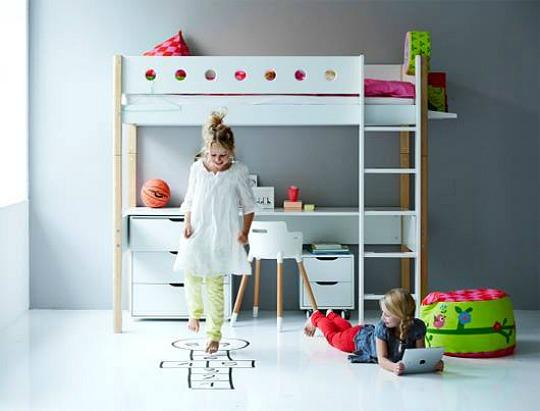 Decorar habitaciones de princesas y piratas con flexa for Flexa muebles infantiles