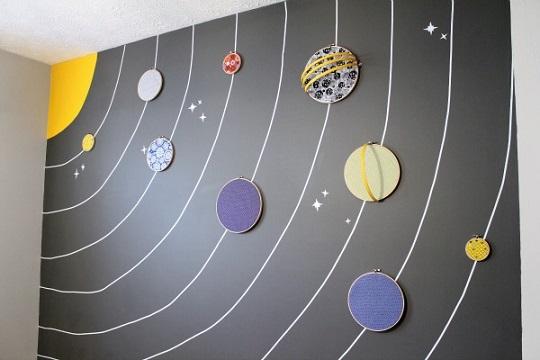 Idea para decorar una habitación de bebé temática