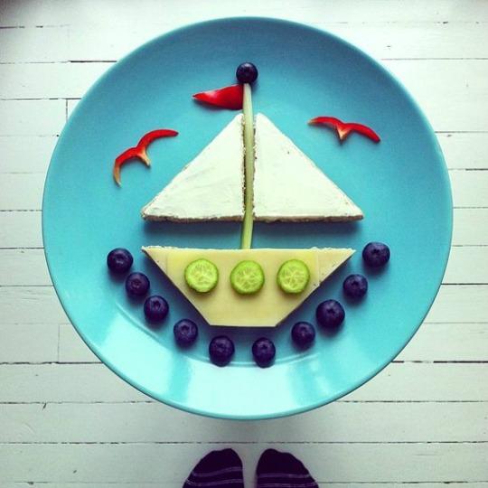 Comida creativa para ni os for Cocina creativa para ninos