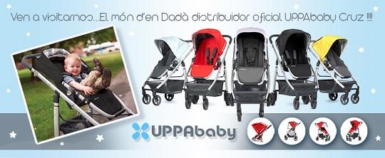 UPPAbaby CRUZ en la tienda de bebés el Món d'en Dadà