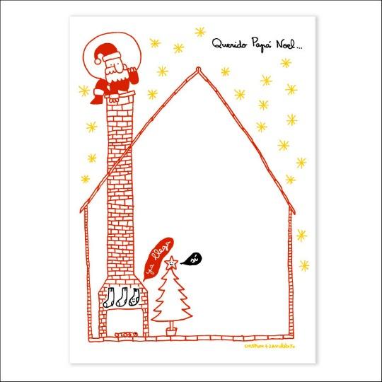 Carta Papá Noel y Reyes Magos para imprimir | Decoideas.Net