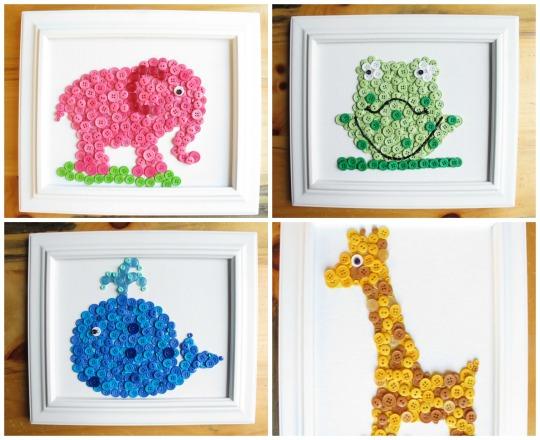 Cuadros infantiles cuadros para ni os y bebes - Cuadros murales para pared ...