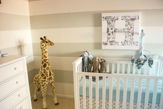 Decorar la habitaci n del beb con jirafas - Decorar la habitacion del bebe ...