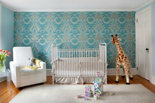Decorar la habitación del bebé con Jirafas