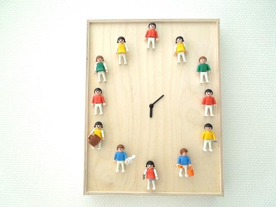 Hazlo tú mismo: un reloj de clicks de Playmobil