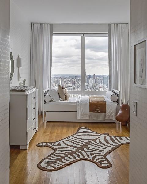 Moderna y elegante habitaci n de beb - Habitacion bebe moderna ...