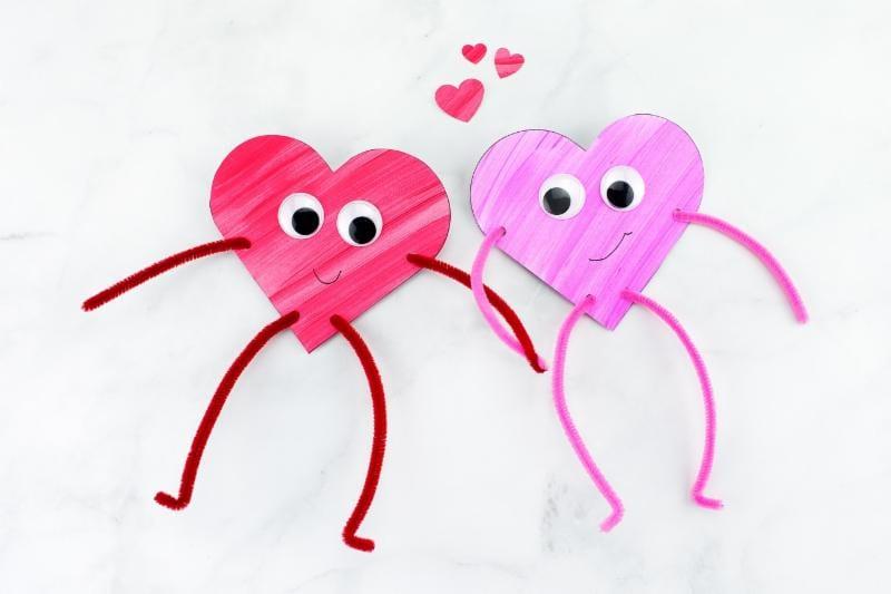 Tarjetas de San Valentín infantiles