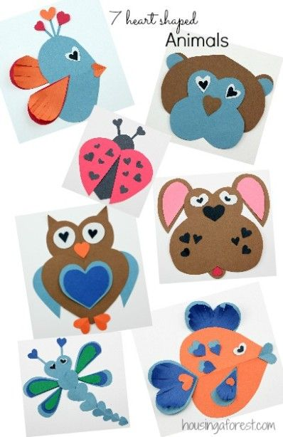 Tarjetas de San Valentín para niños