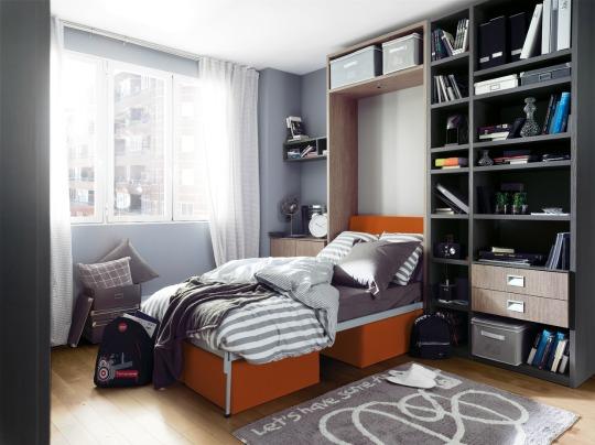 Muebles juveniles funcionales for Dormitorios juveniles para hombres
