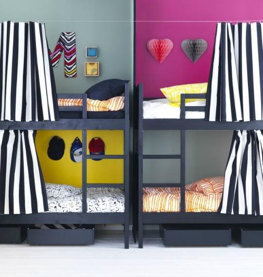 Litera norddal de ikea - Dormitorios con literas para ninos ...