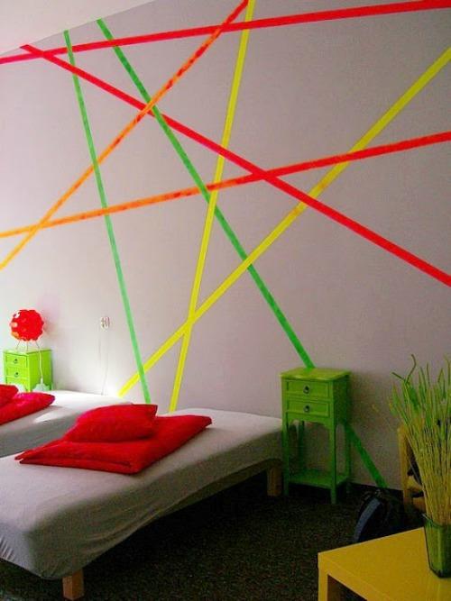 Pintar paredes infantiles modernas - Pintar paredes originales ...