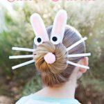 Simpático peinado para Pascua