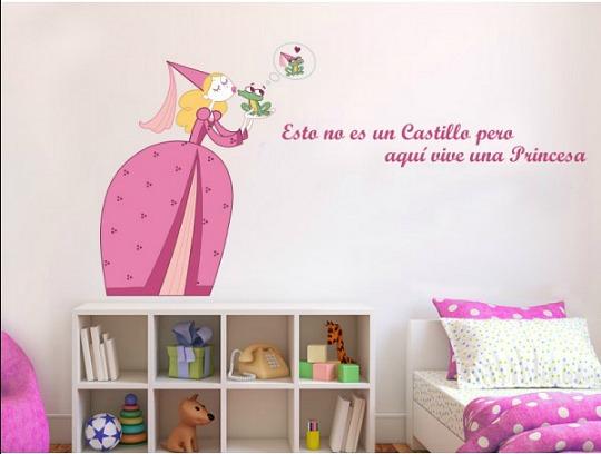Vinilos stica creatividad para las habitaciones infantiles for Vinilos habitacion nino