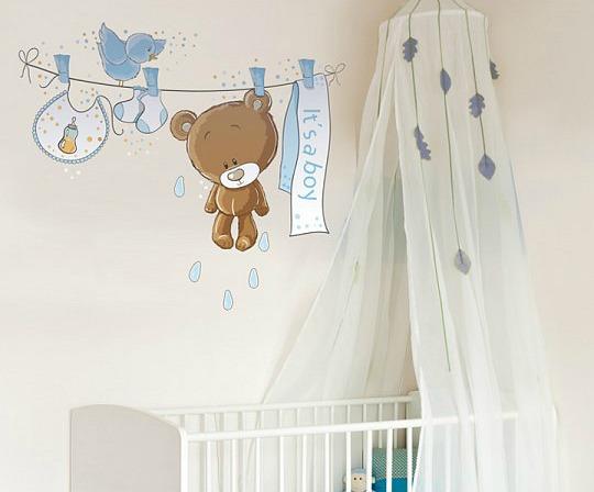 Vinilos stica creatividad para las habitaciones infantiles for Pegatinas para habitacion de bebe