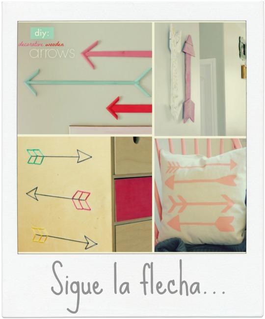 Hazlo tú mismo: flechas DIY