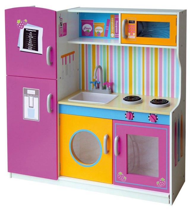 aea1e9f5e157 Esta cocina de tamaño grande presenta nevera, microondas, fregadero con  grifo, armarios, estante. Si te gusta el modelo consulta todos los detalles  ...