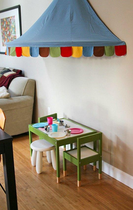 ideas para decorar espacios infantiles con el dosel mysig