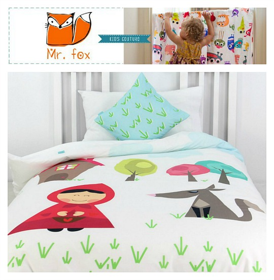 Mr fox ropa de cama infantil - Sacos nordicos ninos ...