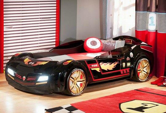 Colecci n biconcept con coches cama y muchos complementos - Cama en forma de auto ...