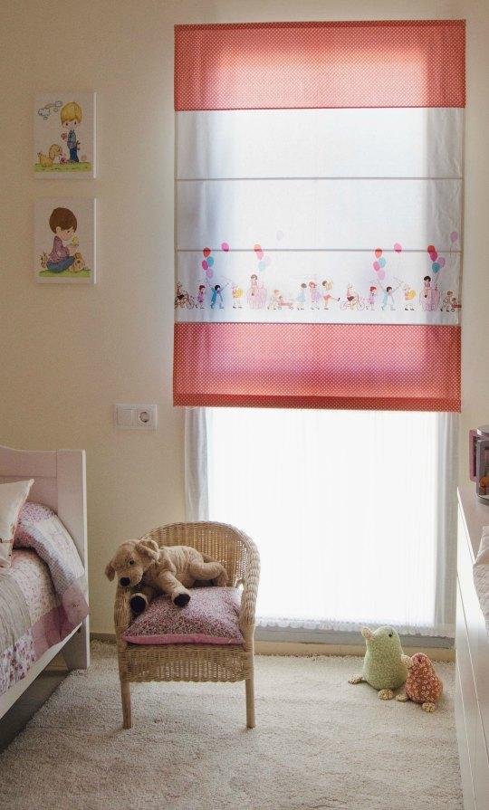 Estores infantiles fabricados a medida decoideas net - Estores para habitacion de bebe ...