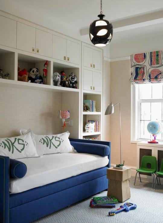 Ambientes infantiles de estilo contemporáneo y elegante