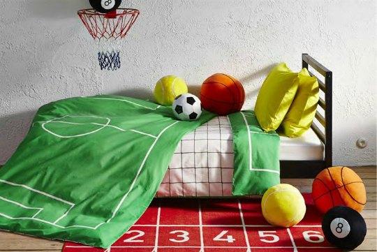 Nuevas colecciones de textiles juveniles de Ikea