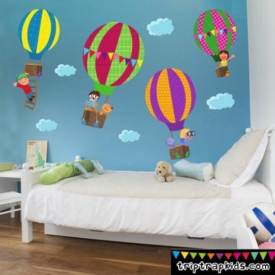 10 propuestas para cambiar la decoraci n con vinilos for Decoracion verano para jardin infantil