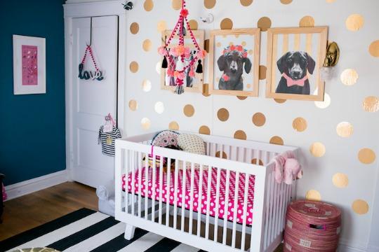 El dormitorio de eleanor - Color paredes habitacion bebe ...