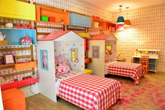 Habitaci n para hermanas gemelas for Cuartos para ninas gemelas