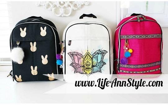 4 Ideas para personalizar la mochila de los niños