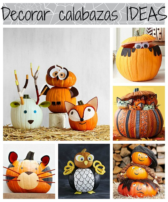 Decorar calabazas 6 ideas simp ticas for Decorar calabazas secas