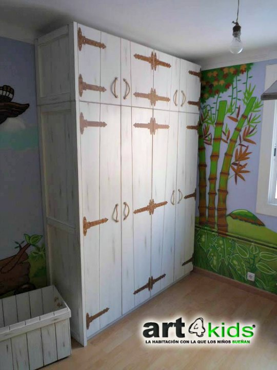habitacion-cama-cabaña-4
