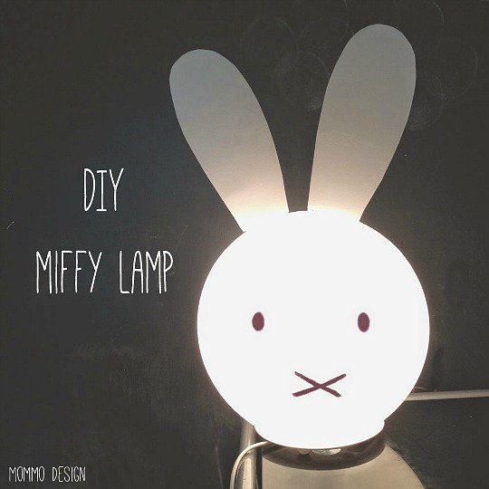 Ikea Hacks: Lámpara Miffy