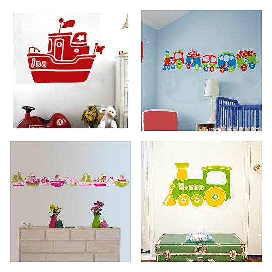 Las propuestas de lagoa para las habitaciones infantiles for Vinilos para decorar habitaciones infantiles