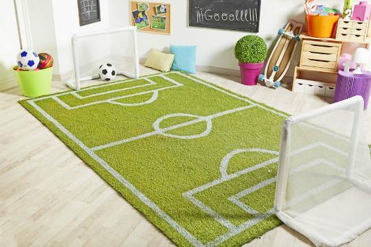 Hazlo t mismo alfombra campo de f tbol - Alfombras para jugar ninos ...